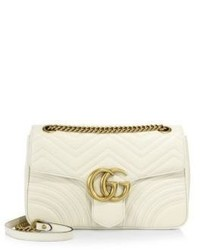 Gucci Gg 20 Medium Quilted Leather Shoulder Bag