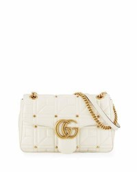 Gg marmont medium quilted shoulder bag medium 783144