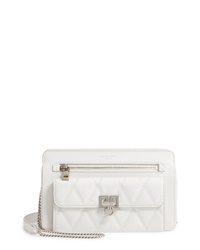 Givenchy Quilted Pocket Leather Crossbody Bag