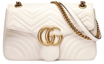 6ef8fa0583ba ... Quilted Leather Satchel Bags Gucci Medium Gg Marmont 20 Matelasse Leather  Shoulder Bag ...