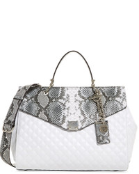 GUESS Rochelle Top Handle Flap Medium Satchel