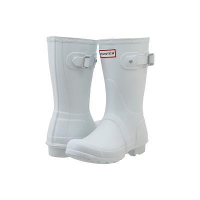 Hunter Original Short Rain Boots White
