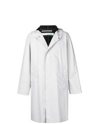 Off-White Oversized Hooded Raincoat