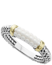 Lagos Caviar Ceramic Stacking Ring