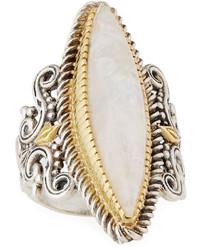 Konstantino Erato Marquise Labradorite Ring Size 75
