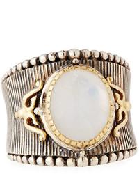 Konstantino Erato Small Oval Labradorite Ring Size 75