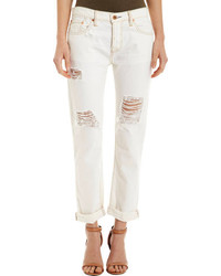 NSF Beck Boyfriend Jeans Raw White