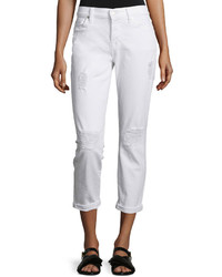 Josefina destroyed cropped jeans clean white 3 medium 430813