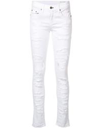 Rag & Bone Jean Brigade Ripped Skinny Jeans