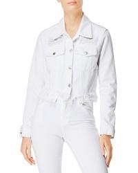 J Brand Cyra Ripped Crop Denim Jacket