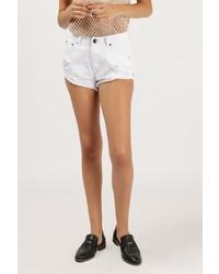 Azalea destroyed denim cut off shorts medium 710184