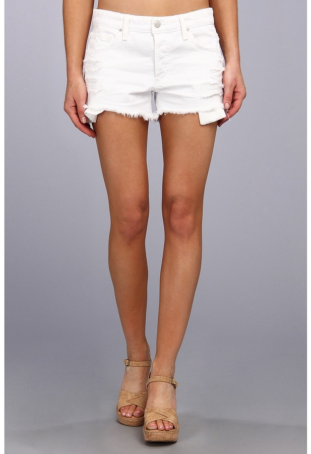 Joe's Jeans Cut Off Distressed Short In Minx | Where to buy & how ...