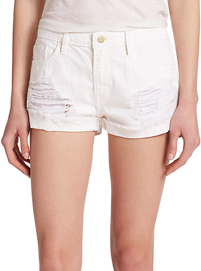 Le Grand Garcon shorts - White Frame Denim uAT1hseJ6H