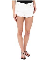 Roxy Peaceful White Shorts