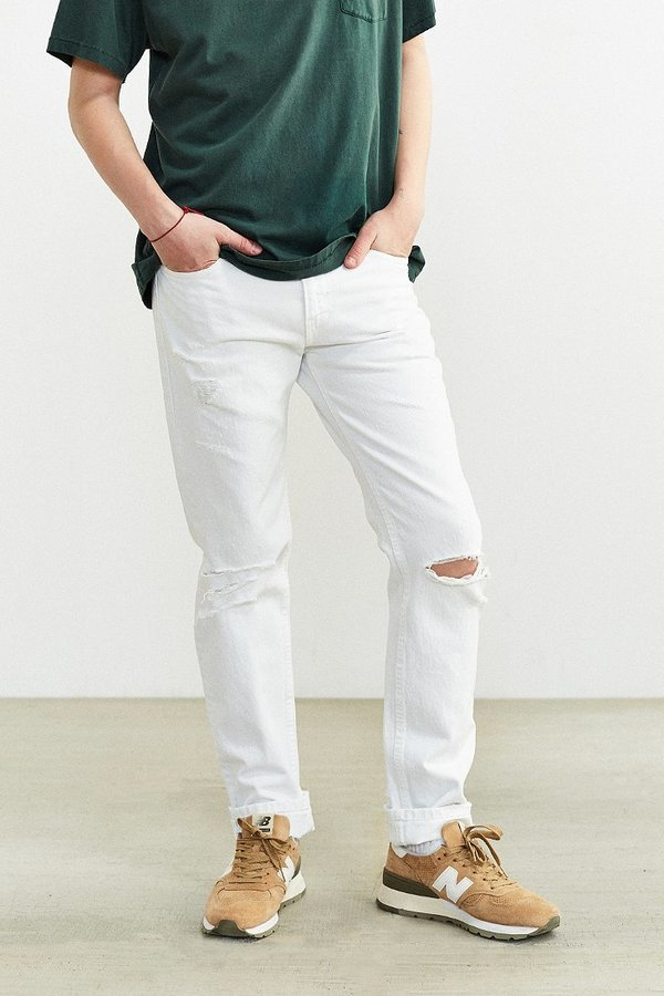 0bf36a26df9 Levi's 511 Whiteout Destructed Slim Jean, $70 | Urban Outfitters ...