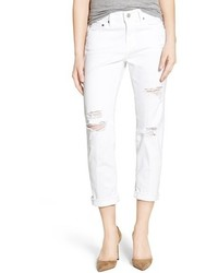 AG Jeans Ag The Ex Boyfriend Crop Slim Jeans