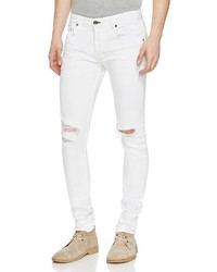 rag & bone Fit 1 Super Slim Fit Jeans In Aged White
