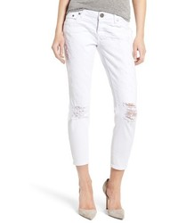 One Teaspoon Freebirds Destroyed Crop Jeans