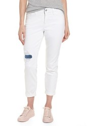 Ripped stretch ankle jeans medium 4344343