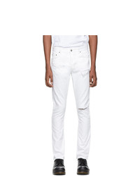 Ksubi White Chitch Slash Jeans