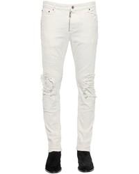 Just Cavalli 17cm Destroyed Skinny Stretch Jeans