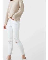 Mango Outlet Crop Skinny Isa Jeans