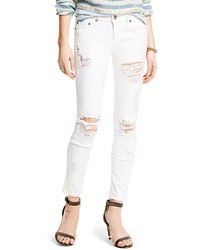 Tommy Hilfiger Destroyed White Skinny Jean