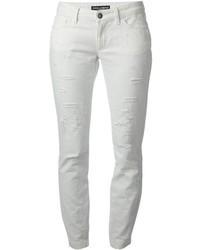 Dolce & Gabbana Distressed Skinny Jean