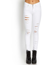 Forever 21 Distressed Skinny Jeans | Where to buy & how to wear
