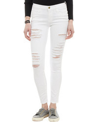 Frame Denim Le Skinny Jeans White