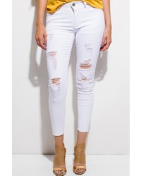 Monkey Ride Jeans Ripped Skinny Jeans