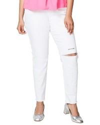 Rachel live to love ripped skinny jeans medium 3686715