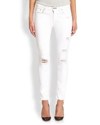 Rag and Bone Rag Bonejean Distressed Skinny Jeans