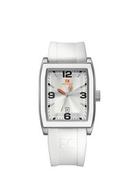BOSS HUGO BOSS Boss Orange White Rubber Quartz Watch