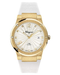 Salvatore Ferragamo Ferragamo F 80 Classic Rubber Watch