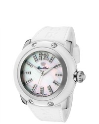 Glam rock miami white rubber watch medium 290618
