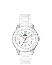 Lacoste White Rio Rubber Band Watch 2000689