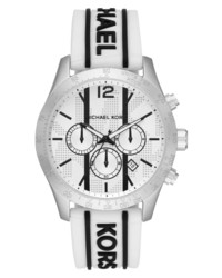 Michael Kors Layton Chronograph Silicone Watch