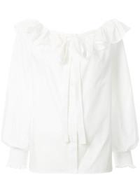 Marc Jacobs Ruffle Tie Blouse