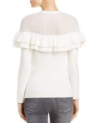Lucy Paris Alexa Ruffle Sweater 100%