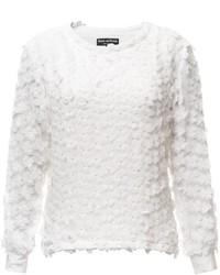Doriane Van Overeem Made In Belgium Minette White Sweater