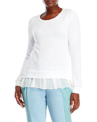 Clu Lace Inset Sweater