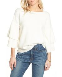 Madewell Tier Sleeve Sweater