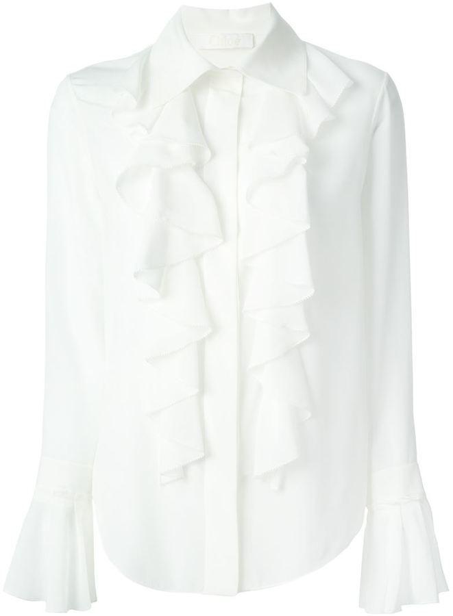 Chloé Ruffle Shirt