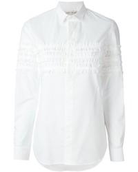 Each x other ruffle detail shirt medium 374451