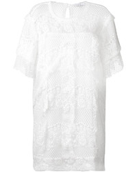 IRO Ruffled Lace Dress