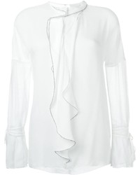3.1 Phillip Lim Ruffle Detail Blouse