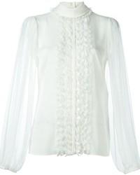 Dolce & Gabbana Ruffle Detail Blouse