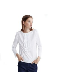 Tommy Hilfiger Hilfiger Collection Ruffle Blouse
