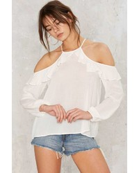 Factory Andrea Cold Shoulder Top